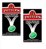Potters Pastilles Catarrh Extra Strong 45g-PACK OF 2