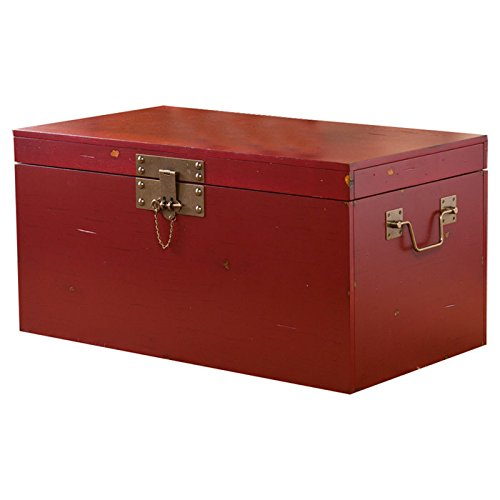 Rowan Trunk Coffee Table in Red