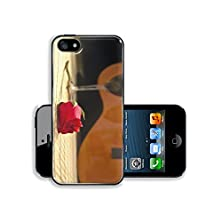 buy Msd Apple Iphone 5 5S Aluminum Plate Bumper Snap Case Romantic Evening Glass Of Vine Rose And Classical Guitar 11817781