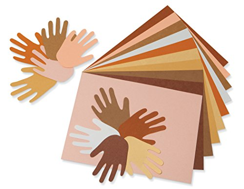 Pacon Multicultural Construction Paper, 12 x 18 Inches, Assorted (9512)