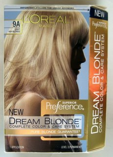 Loreal Superior Preference Dream Blonde Hair Color 9a Light Ash Blonde by L'Oreal