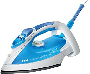 T-Fal FV4259003 Ultraglide Easycord Iron with Scratch Resistant Nonstick Soleplate, Blue