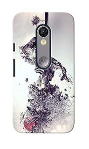 KnapCase Zebra Abstract Designer 3D Printed Case Cover For Motorola Moto G Turbo Edition