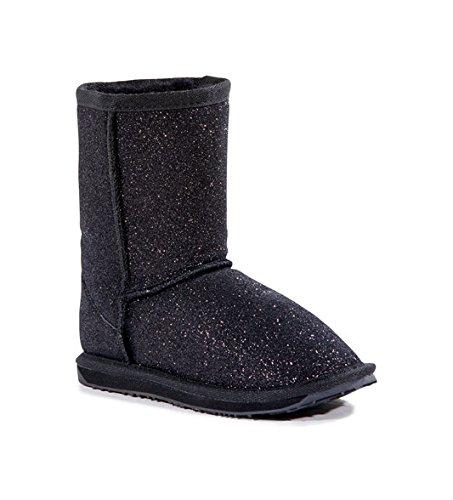 Emu Australia Sparkle Boot (Infant/Toddler/Little Kid/Big Kid),Black,3 M Us Little Kid front-398418