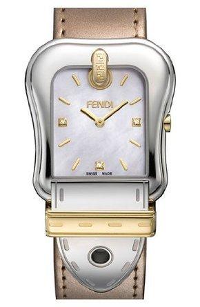 フェンディ Fendi Diamond-Accented Stainless Steel Strap Watch - Silver- 男性 メンズ 腕時計 【並行輸入品】