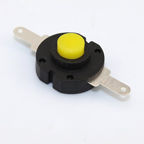 10PCS Flashlight Switch Self-locking Round Twisted Switch DIY Electronics Round Switch (General Electric Mouse compare prices)