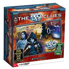 Cheap University Games University Games 39 Clues 200 Piece Puzzle 39 Clues (B001SOZDZ4)