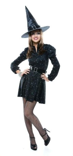 Costumes For All Occasions Pm809257 Dazzling Witch Teen Jrs 7/9