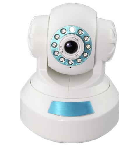 DB Power Network Wireless WiFi indoor camera, IP IR Security Camera 2way Audio CMOS CCTV Pan/Tilt at Sears.com
