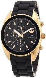Emporio Armani Men's AR5954 Sport Black Dial Chronograph Watch