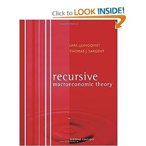 Recursive Macroeconomic Theory Thomas J. Sargent