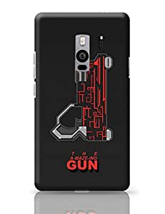 PosterGuy THE A-MAZE-ING GUN Quirky Illustration OnePlus Two Cover