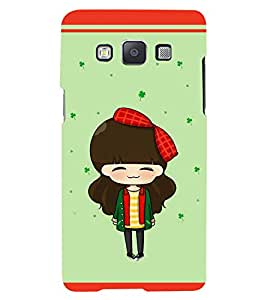 PRINTSWAG CARTOON GIRL Designer Back Cover Case for SAMSUNG GALAXY A5