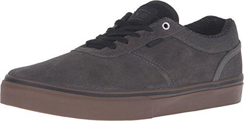 C1RCA Men's Gravette Skateboarding Shoe, Gunmetal/Gum, 8.5 M US