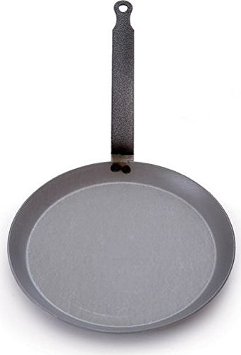 Mauviel Made In France M'steel Crepe Pan, 9.5-Inch