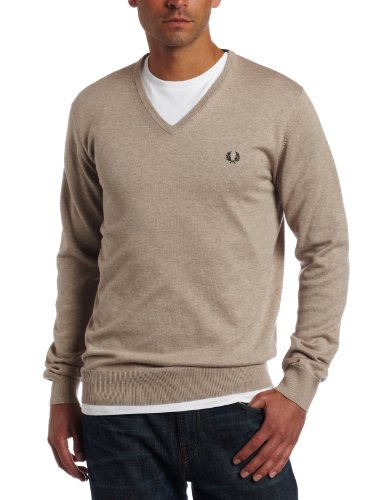 Fred Perry Men's V-Neck Sweater