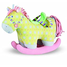 Baby Stella Rocking Horse by Manhattan Toy