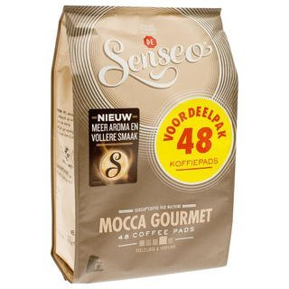 Senseo Mocca Gourmet, New Design, 48 Coffee Pods