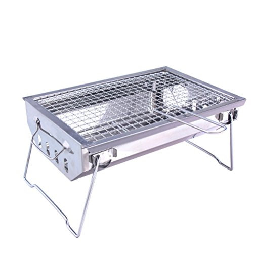 Outdoor Camping Picnic Cooking Portable Foldable Barbecue Charcoal BBQ Grill Oven