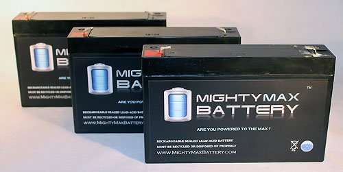 6V 7Ah Cf-6V7 Pe6V7.2F1 Ca160 Bsl0925 Battery - 3 Pack