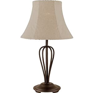 Royce Lighting RLT5149 1 23 Wrought Iron Collection Indoor Outdoor Table Lamp