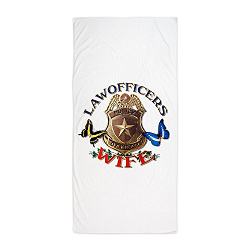 Beach Towel Law Officers Police Officers Wife