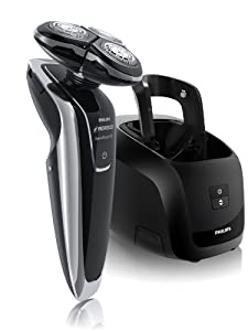 (顶级)Philips Norelco飞利浦1280XCC 3d电动剃须刀带清洗桶彩盒装折后$185.99