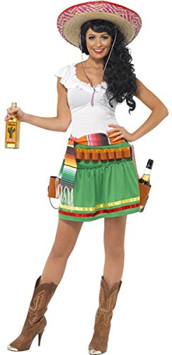 [Tequila Shooter Girl Costume Medium] (Tequila Shooter Girl Costume)