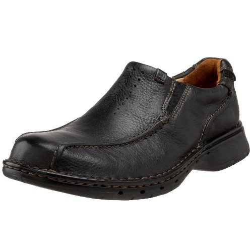 Clarks Unstructured Men's Un.Seal Casual Slip On,Black,11 M US