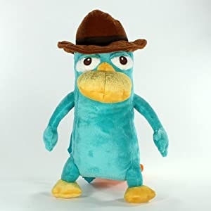 "Amazon.com: Phineas and Ferb Perry the Platypus 16"" Plush ..."