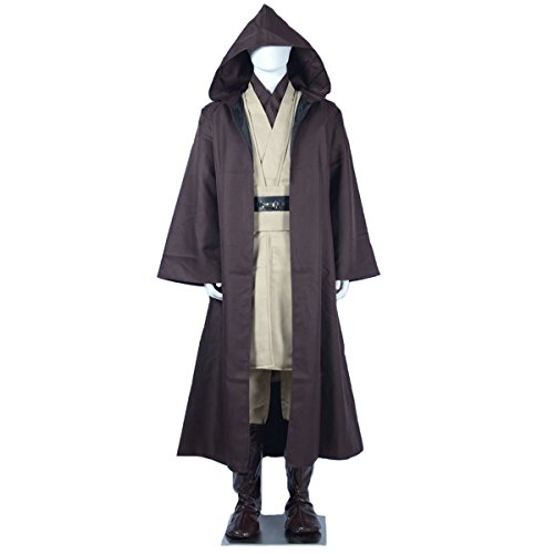 Angelaicos Mens Halloween Cosplay Party Costume Suits Cloak Shoes Cover
