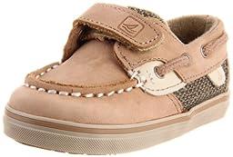 Sperry Top-Sider Bluefish Crib H&L Boat Shoe (Infant/Toddler),Linen/Oat,2 M US Infant
