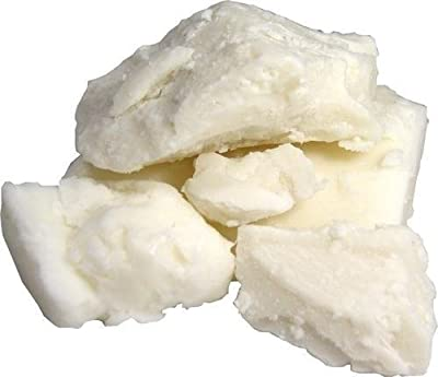 100% Pure Unrefined Raw SHEA BUTTER - (1 Pound) from the nut of the African Ghana Shea Tree