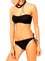less is more Braguita de Bikini (Negro)