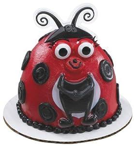Ladybug Fingeroos Decoset ~ Cake Topper