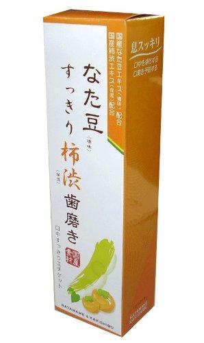 三和通商 なた豆すっきり柿渋歯磨き粉 120g