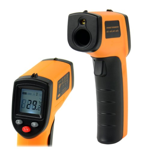 Non-Contact Lcd Ir Laser Infrared Digital Temperature Thermometer Gun Point Gm320 -50~330?C