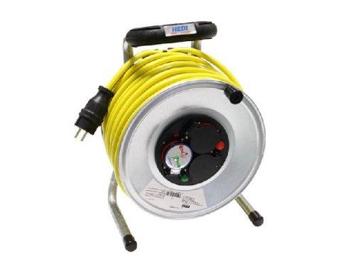 Kabeltrommel-Metall-25m-Verlngerung-Kabel-AT-K35-N07V3V3-F-3x25mm-NEU-Metallkabeltrommel-Kabeltrommel