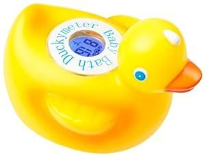 Duckymeter, el baño flotante pato juguete del bebé y termómetro de baño bañera