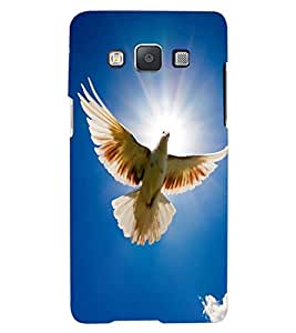 ColourCraft Beautiful Pigeon Design Back Case Cover for SAMSUNG GALAXY A7