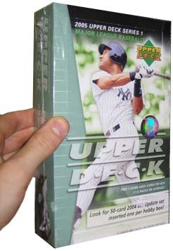 2005 Upper Deck Baseball Cards Hobby Box (24 packs/box)