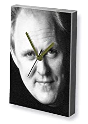 JOHN LITHGOW - Canvas Clock (LARGE A3 - Signed by the Artist) #js001