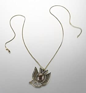 Limited Collection Bird Pendant Diamanté Necklace