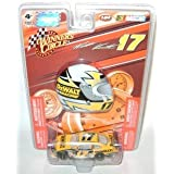 2009 Matt Kenseth #17 Dewalt Tools Ford Fusion 1/64 Scale & Mini Profile Helmet Magnet Edition Winners Circle