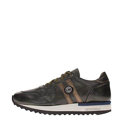 Exton 555 Sneakers Uomo Pelle Foresta Foresta 44