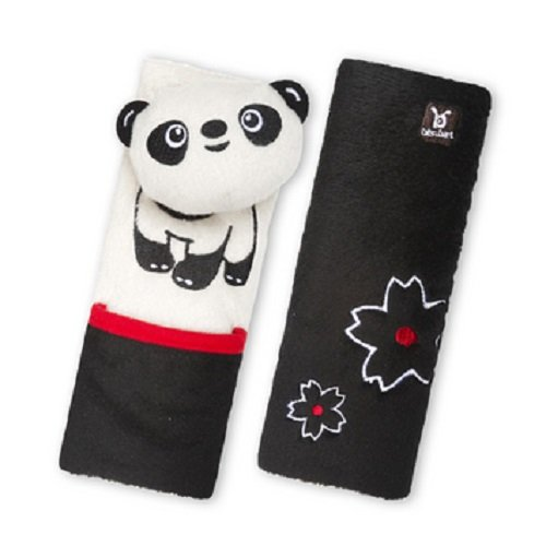 Benbat Seat Belt Pals Pads, Panda