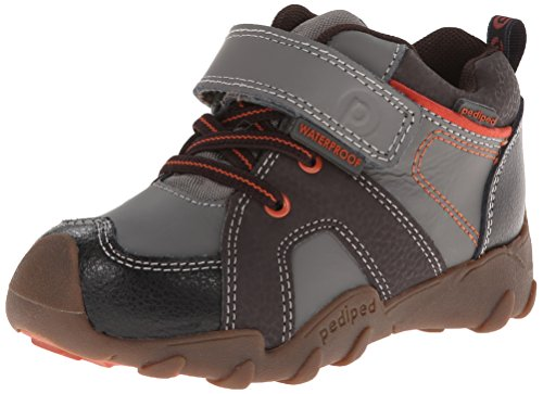 Pediped Flex Justin Boot (Little Kid/Toddler),Charcoal,30 Eu(12.5-13 Us Little Kid) front-1060959