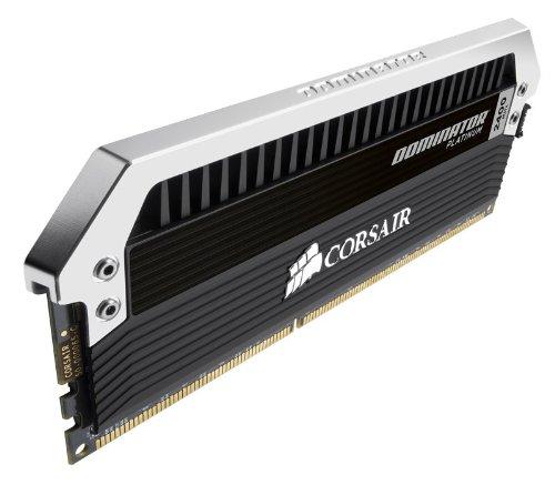 Corsair海盗船 DOMINATOR Platinum 统治者铂金系列 16GB (2 x 8GB) DDR3 2400台式机内存条图片