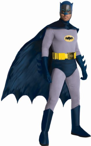 Rubie's Costume Classic TV Batman Circa 1966, Blue/Gray, Standard or XL