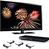 LG Electronics 47LW5300 47-Inches 1080p 120HZ Cinema 3D LED TV with 3D Blu- ....